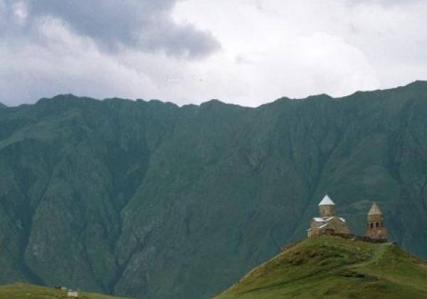 kazbegi-dreifaltigkeitskirche