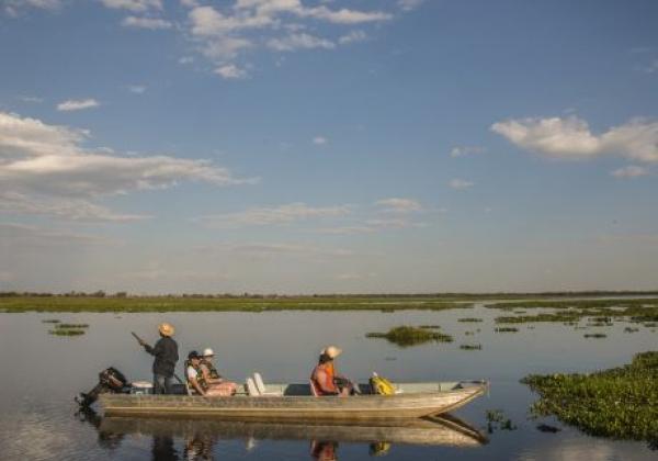 Nordpanatanal mit dem Boot