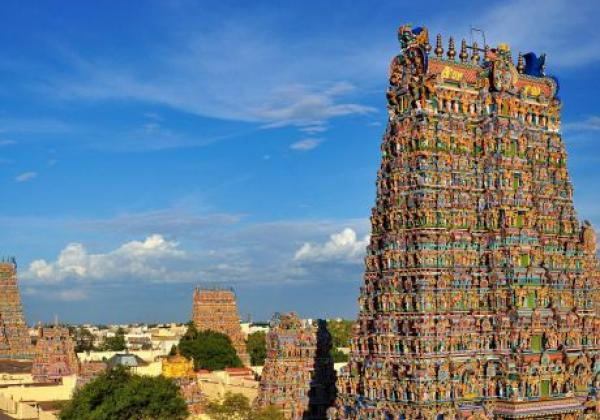 meenakshi-sundareswarar-or-meenakshi-amman-temple--madurai--tamil-nadu-eryfhc