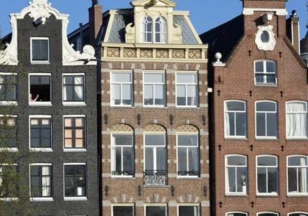 amsterdam-häuserfront