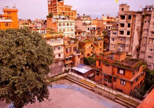 stadt-in-nepal