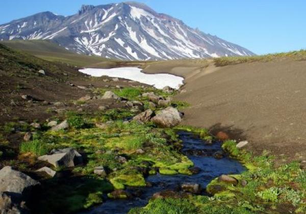vulkan-in-kamtschatka