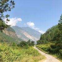 bhutan-straße