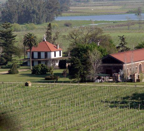 Estancia in der Pampa Uruguays